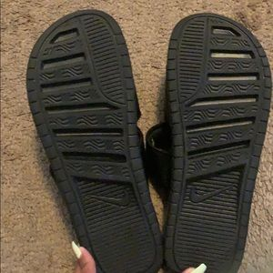 Nike Shoes - Nike two strand slides